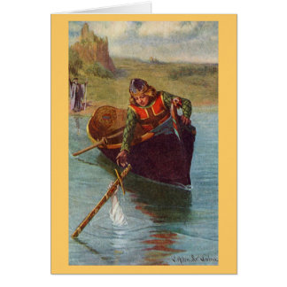 Vintager - König Arthur - Excalibur zurückgebracht Karte