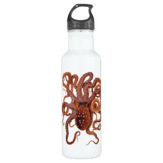 Vintager KrakeMacropus, Marinewassertiere Trinkflasche