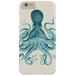 Vintager Kraken-Telefon-Kasten Barely There iPhone 6 Plus Hülle