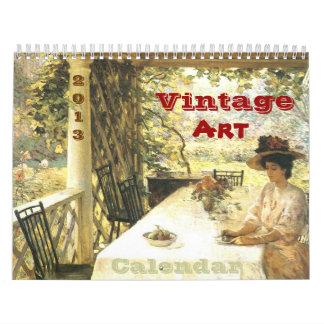 Vintager Kunst-Kalender 2013 Kalender