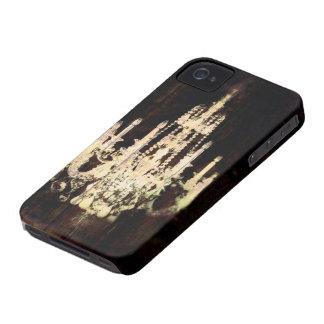 Vintager Leuchter rustikale Scheunen-hölzerner iPhone 4 Etuis