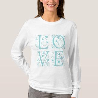 Vintager Liebe-T - Shirt