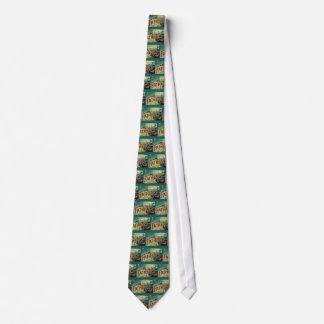 Vintager lieber Vater Personalisierte Krawatte
