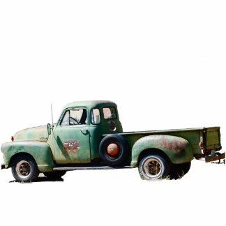 Vintager LKW Photofigur