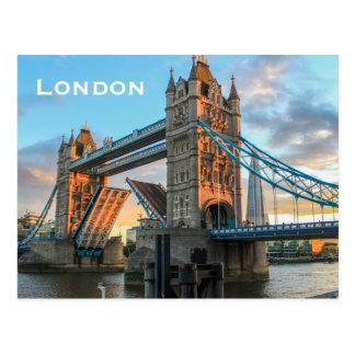 Vintager London-Reise-Tourismus Postkarten