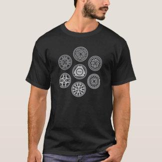 Vintager Mazda RX-7 SA/FB dreht T-Shirts