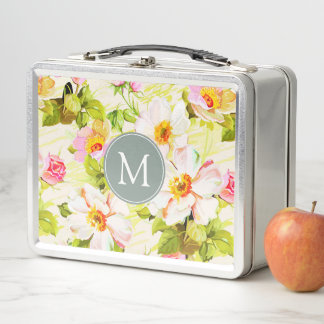 Vintager Metall Lunch Box