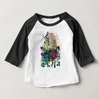 Vintager MikrofonGrunge Baby T-shirt