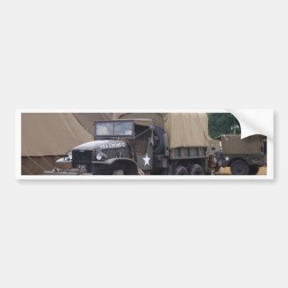 Vintager Militär-LKW Autoaufkleber