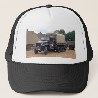 Vintager Militär-LKW Truckerkappe