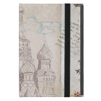 Vintager Moskau-Porto-Entwurf iPad Mini Etuis