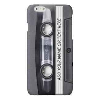 Vintager Musik-Kassetten-Band-Blick