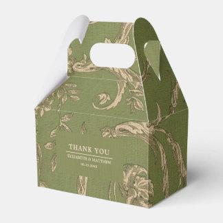 Vintager Muster-Entwurfs-kundenspezifische Geschenkschachtel