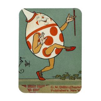 Vintager Mutter-Gans-Kinderzimmer-Reim, Humpty Magnet