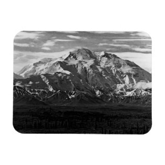 Vintager Nationalpark 1970 USA Alaska Mt McKinley Magnet
