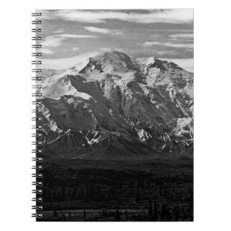 Vintager Nationalpark 1970 USA Alaska Mt McKinley Notizblock