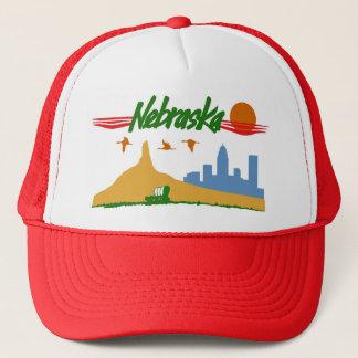 Vintager Nebraska-Hut Truckerkappe