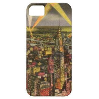 Vintager New York CitySkyline iPhone 5 Schutzhüllen