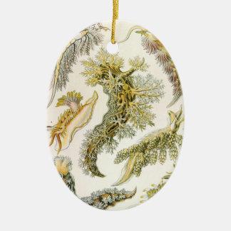 Vintager Nudibranchia, Seeschnecken durch Ernst Keramik Ornament