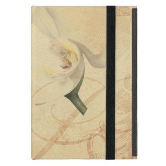 Vintager Orchideen-Hintergrund iPad Mini Schutzhülle