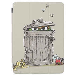 Vintager Oscar in der Abfall-Dose iPad Air Hülle