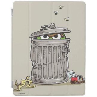 Vintager Oscar in der Abfall-Dose iPad Hülle