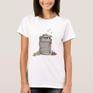 Vintager Oscar in der Abfall-Dose T-Shirt