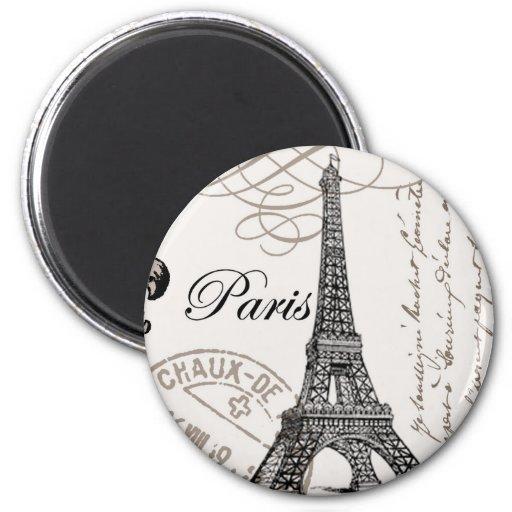 Vintager Paris… Magnet Magnete