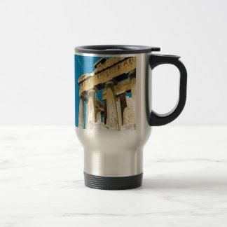 Vintager Parthenon-Tempel Reise-Athens Reisebecher
