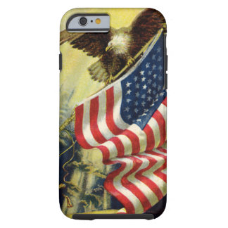 Vintager Patriotismus, patriotischer Tough iPhone 6 Hülle