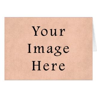 Vintager Pfirsich-Rosa-Pergamentpapier-Hintergrund Karte