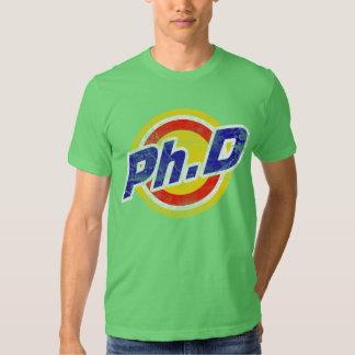 Vintager Ph.D oder PhD oder Doktor der Philosophie T-Shirts