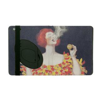 Vintager PlakatCachou Lajaunie iPad Hüllen
