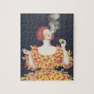 Vintager PlakatCachou Lajaunie Puzzle