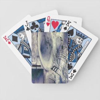 Vintager Plattenspieler Bicycle Spielkarten