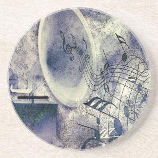 Vintager Plattenspieler Getränkeuntersetzer