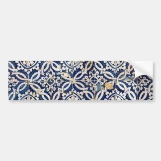 Vintager Portugiese Azulejo Autoaufkleber