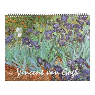 Vintager Post-Impressionismus durch Vincent van Kalender