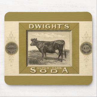 Vintager Produkt-Aufkleber, Dwights Bikarbonatsoda Mousepads