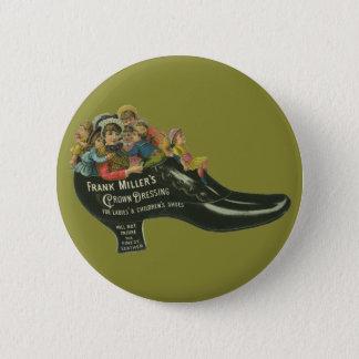 Vintager Produkt-Aufkleber, Frank-Miller Runder Button 5,7 Cm