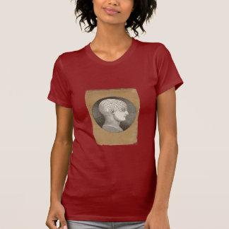 Vintager Psychologie-Kopf-T - Shirt