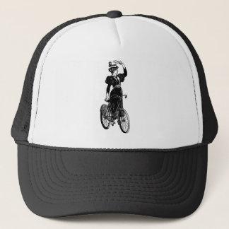 Vintager Radfahrer Truckerkappe