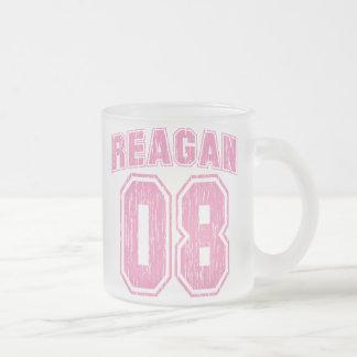 Vintager Reagan 08 Matte Glastasse