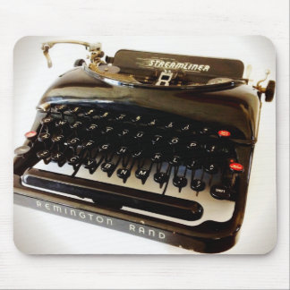 Vintager Remington Rand-alte Schreibmaschine Mousepad