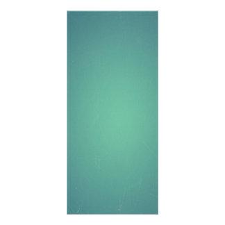 Vintager Retro aquamariner blaugrüner Türkis Werbekarte