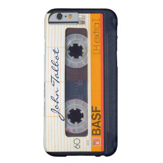 Vintager Retro umgearbeiteter 80er Mixtape Barely There iPhone 6 Hülle