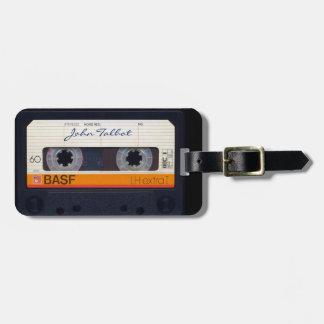 Vintager Retro umgearbeiteter 80er Mixtape Kofferanhänger