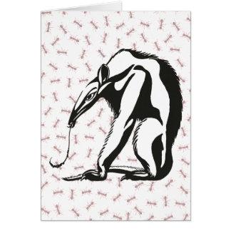 Vintager riesiger Anteater durch Marcus Behmer Karte
