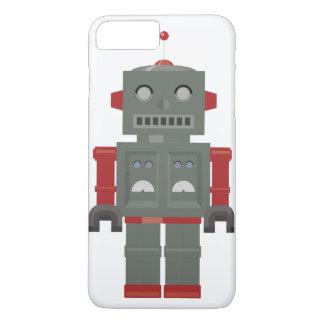 Vintager Roboter iPhone 8 Plus/7 Plus Hülle