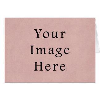 Vintager rosa Rosen-Pergamentpapier-Hintergrund Karte